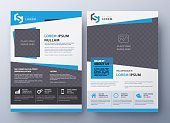 Business brochure flyer design layout template. Leaflet cover in A4 size. Brochure flyer. Brochure flyer vector. Flyer template. Brochure flyer flat. Flyer design. Brochure flyer eps10.