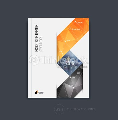 Brochure Template Layout Cover Design Annual Report Magazine Vector