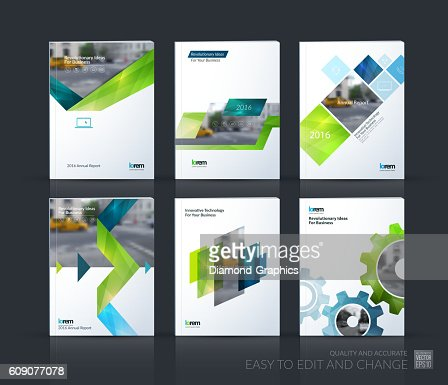 Brochure template layout, cover design annual report, magazine, : Vector Art