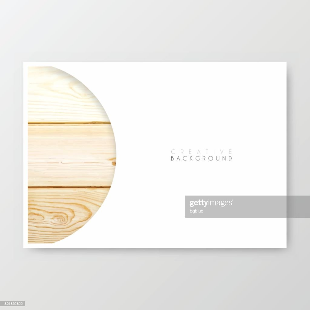 Brochure template layout, cover design, business annual report, flyer, magazine : Vector Art
