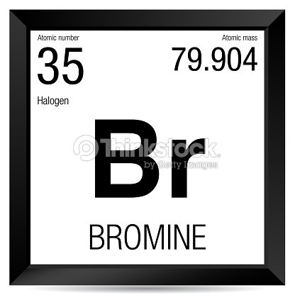 Smbolo de bromo elemento nmero 35 de la tabla peridica de los smbolo de bromo elemento nmero 35 de la tabla peridica de los elementos qumica urtaz Images