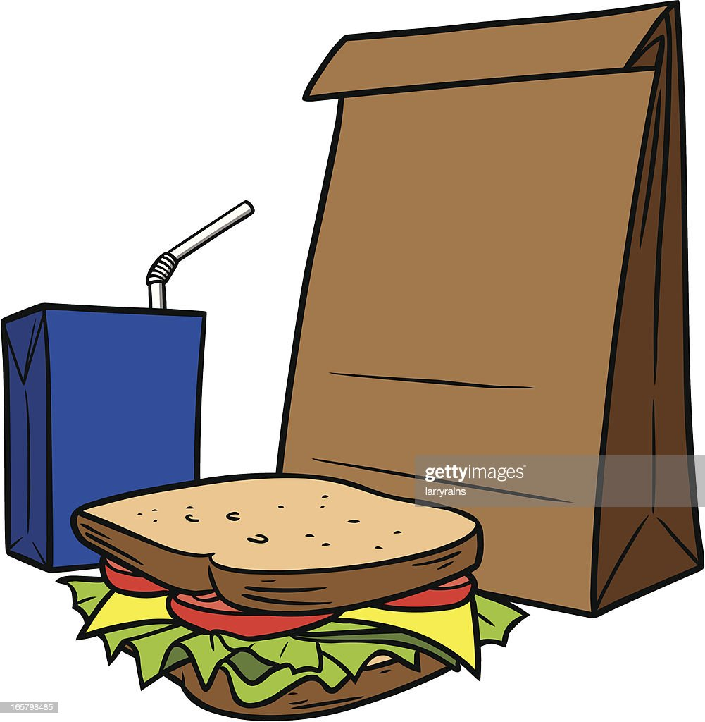 lunch bag clipart - photo #35