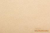 Brown paper texture background. Vector illustration eps 10