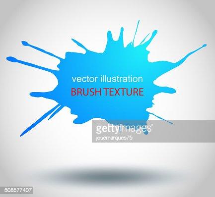 Brosse peindre les taches, éclaboussures, VECTEUR : Clipart vectoriel