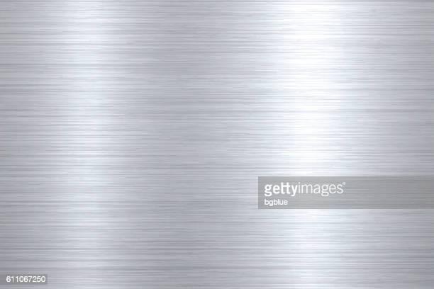 Gebürstetes Metall Hintergrund