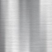 Metallic surface.