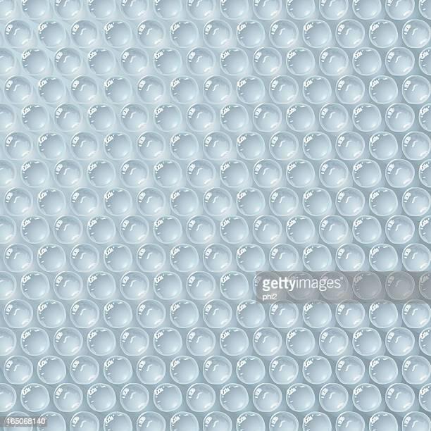 Luftpolsterfolie Textur Vektor