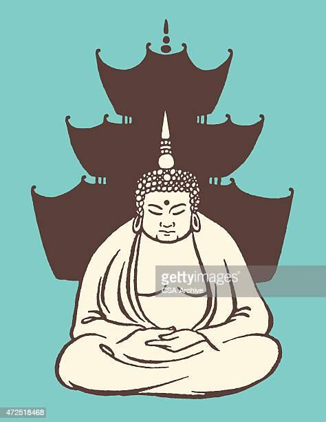 Bouddha dans le Temple de
