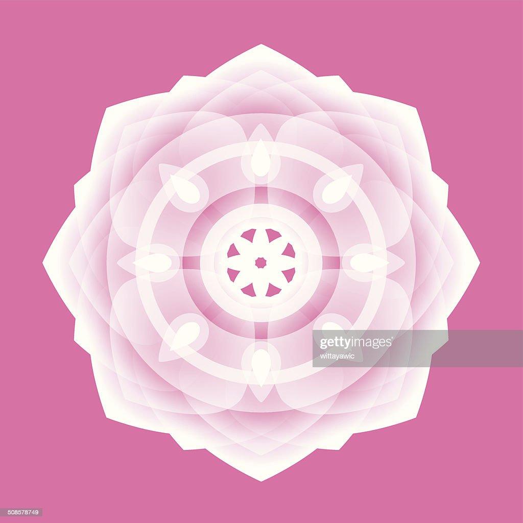 Bouddha, intuit, Roue de la vie : Clipart vectoriel