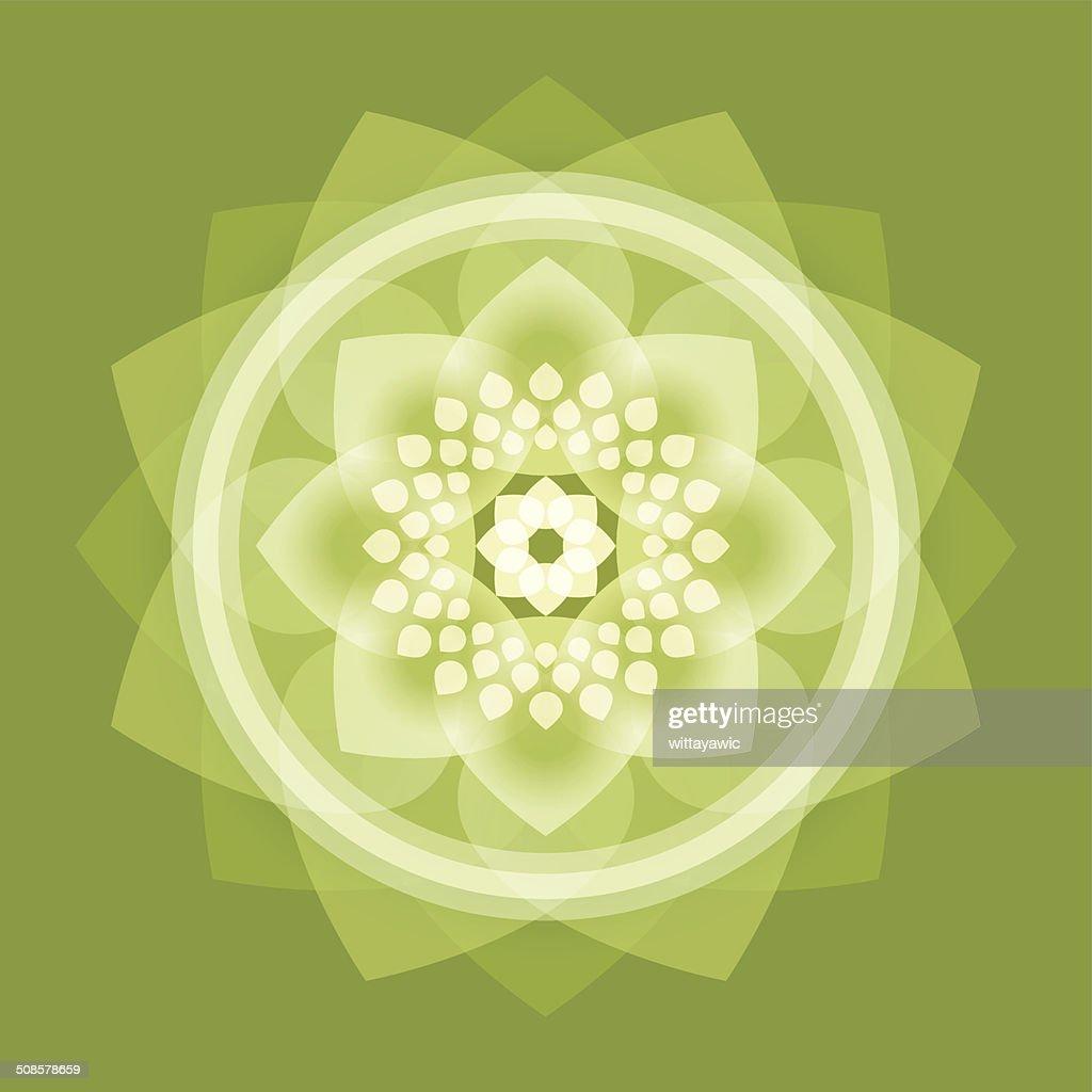 buddha, lotus, Rad des Lebens, intuit : Vektorgrafik