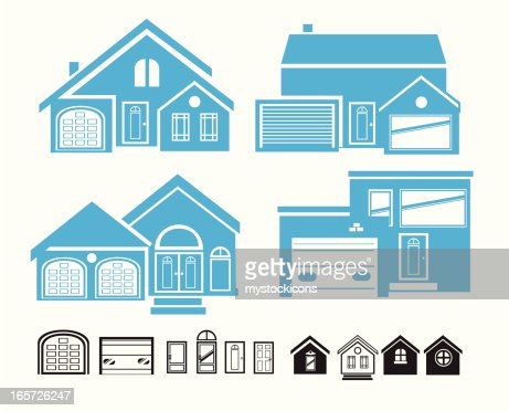 Build Your Own House Vector Art