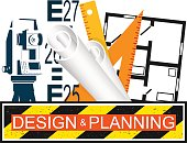 Building design and planning for construction