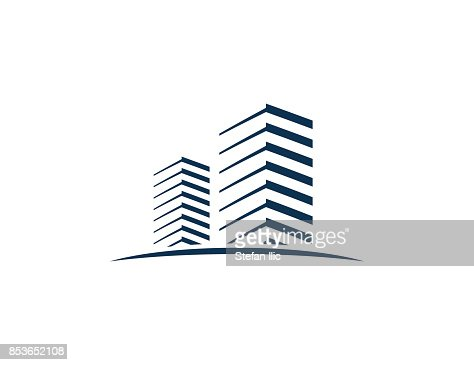 Building icon : Vector Art