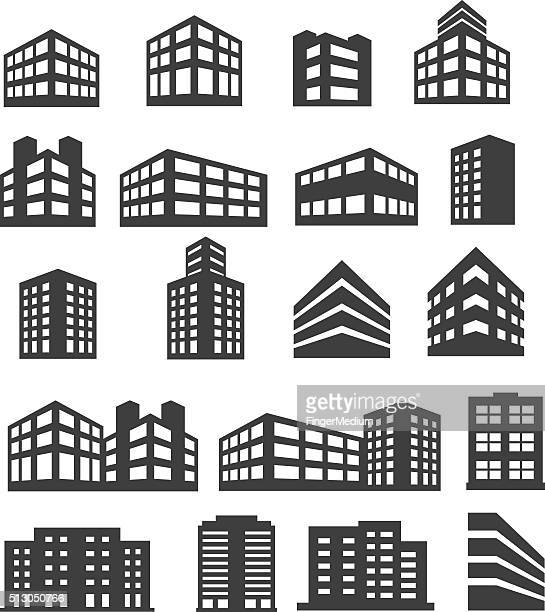 Building Icons Set