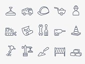 Set of 15 building icons