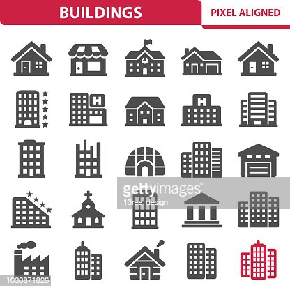 Buildings : stock vector