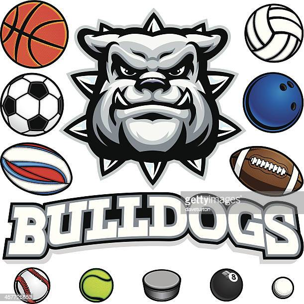 Bulldog Mascot Sports Package