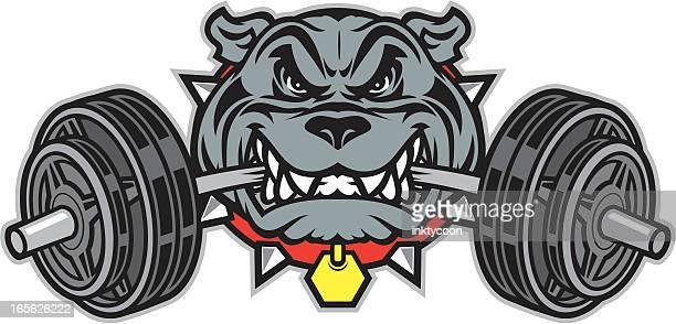 Bulldog Mascot Weight Chew