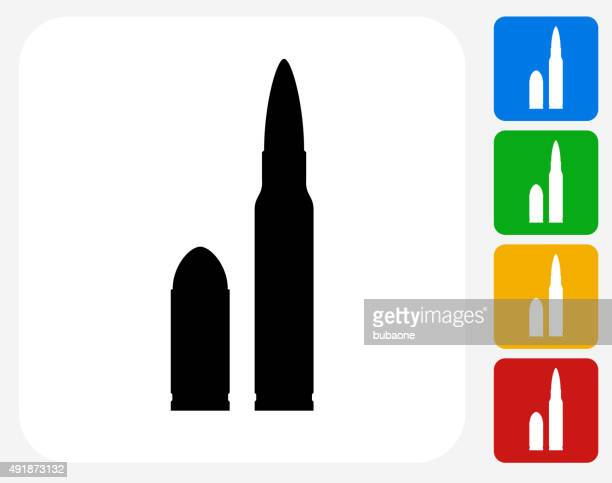 Bullet Icon Flat Graphic Design