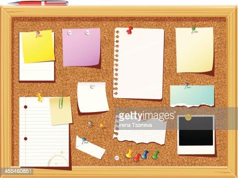 bulletin board vector art bulletin board