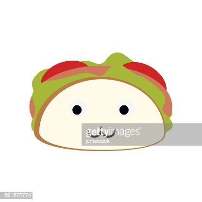 Dibujos Animados El Burrito Deliciosa Comida Kawaii Cute Arte