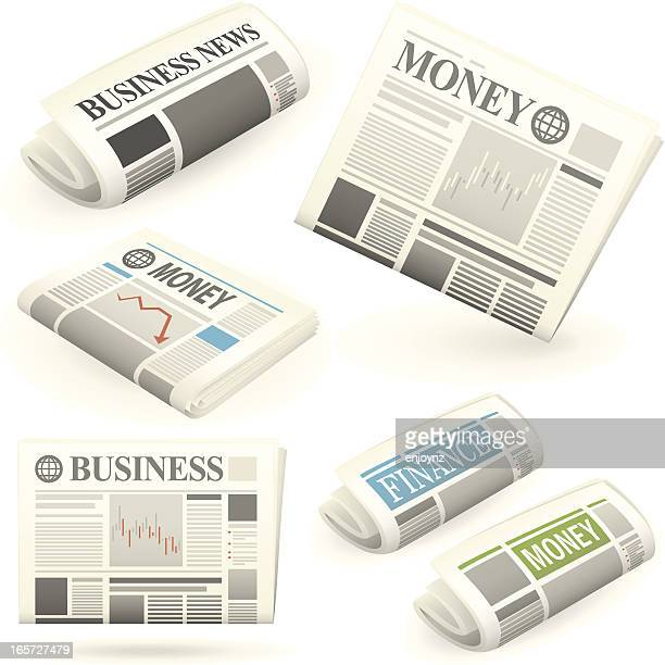 Business and finance newspapers