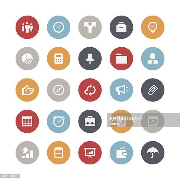 Business-und management-Symbole/Orbis series