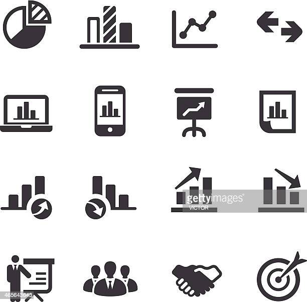 Business and Market Analysis Icons - Acme Series