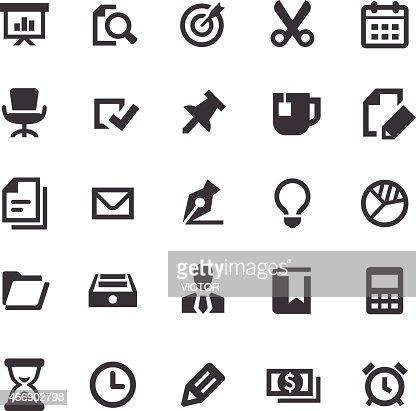 unternehmen und das b ro iconssmartserie vektorgrafik getty images. Black Bedroom Furniture Sets. Home Design Ideas