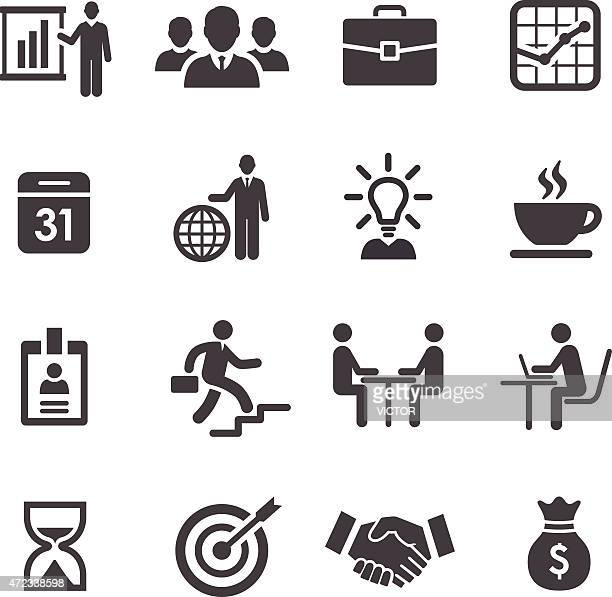 Business und workflow-Icons-Acme Series