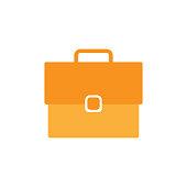 business bag icon for web design. vector illustration.