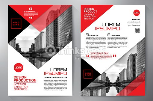 Business Brochure Flyer Design Leaflets A4 Template Cover