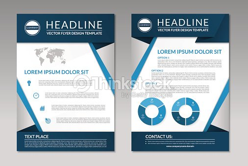 Business Brochure Flyer Design Template A4 Size Vector Art Thinkstock