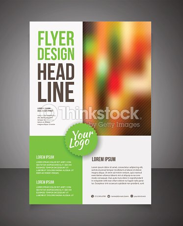 Flyer Design Ideas 4 creative design ideas for promotional flyers to market your business Business Brochure Or Offer Flyer Design Template Vector Art