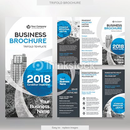 Business brochure template in tri fold layout vector art thinkstock business brochure template in tri fold layout vector art wajeb Images