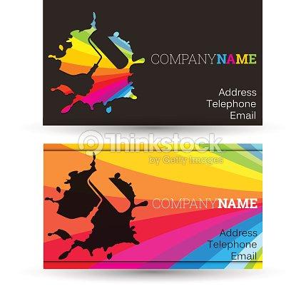 Business card painting vector art thinkstock business card painting vector art colourmoves