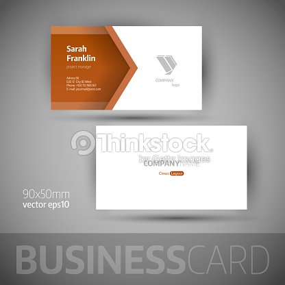 Business card template vector illustration vector art thinkstock business card template vector illustration vector art reheart Images