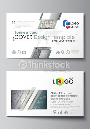 Business card templates easy editable layout abstract vector design business card templates easy editable layout abstract vector design template pattern made from reheart Images