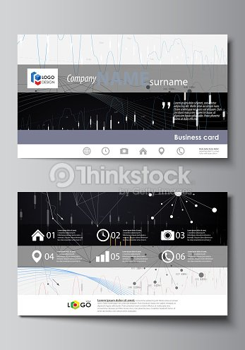 Business card templates easy editable vector layout abstract design business card templates easy editable vector layout abstract design infographic background in minimalist style wajeb Images