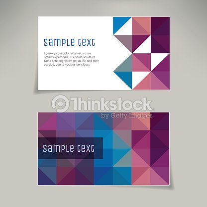 Business card templates with geometric pattern backgrounds vector business card templates with geometric pattern backgrounds vector art colourmoves