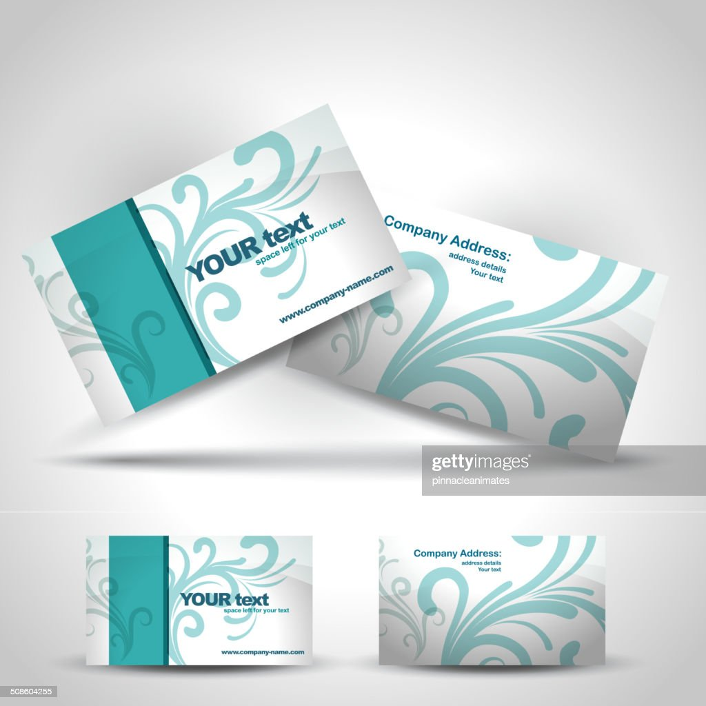 business card : Vector Art