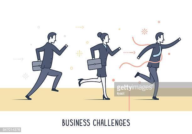 Geschäftliche Herausforderungen