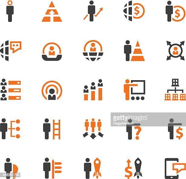 Icone di concetto di Business