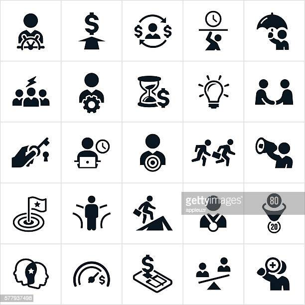 Business Concepts and Metaphors Icons