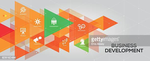 Business Development banner and icons