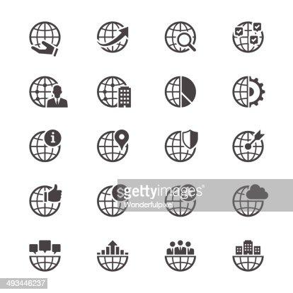 Business flache icons : Vektorgrafik