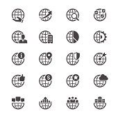Simple vector icons. Clear and sharp. Easy to resize. No transparency effect. EPS10 file.