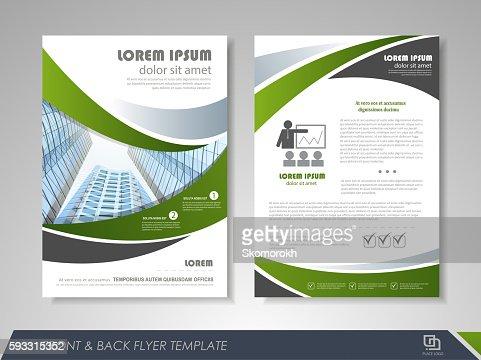 Business flyer cover design : Vector Art