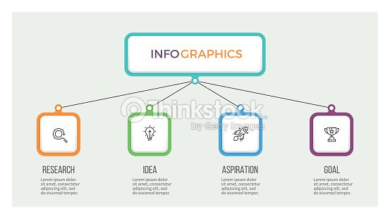 Business hierarchy infographic organization chart with 4 options business hierarchy infographic organization chart with 4 options vector template vector art flashek Images