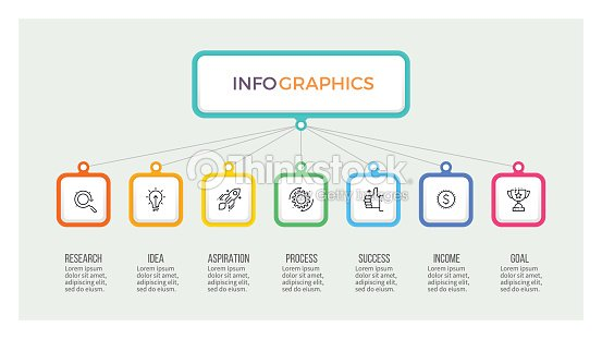 Business hierarchy infographic organization chart with 7 options business hierarchy infographic organization chart with 7 options vector template vector art accmission Images